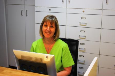 Frau Gundula Breitschuh Medizinische Fachangestellte